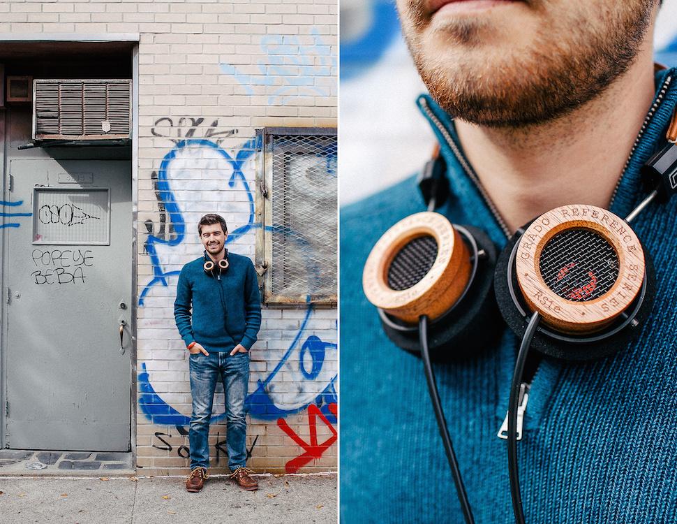 Jonathan Grado Headphones Grado Labs Toys and Tools Photo Essay