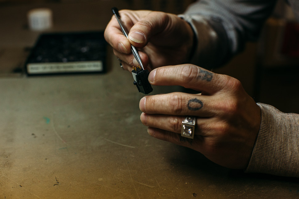 Cartridge Building - Grado Labs Photo Essay