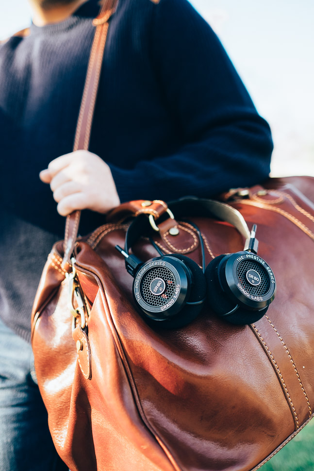 Grado Headphones SR80e JetBlue Travel