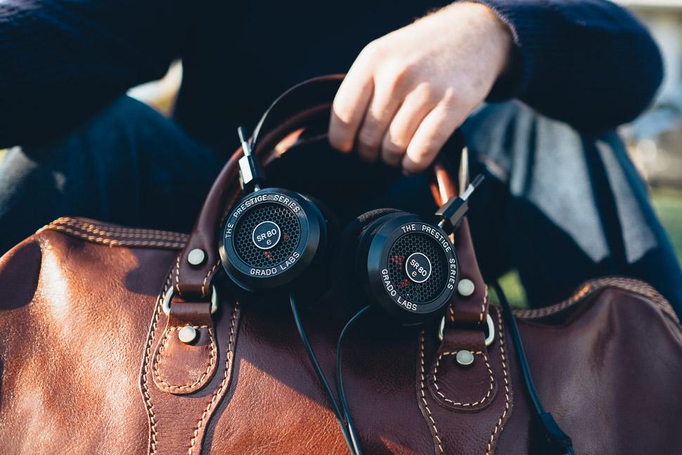 Grado Headphones SR80e JetBlue Travel
