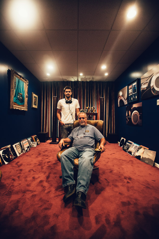 John and Jonathan Grado - Grado Labs Photo Essay