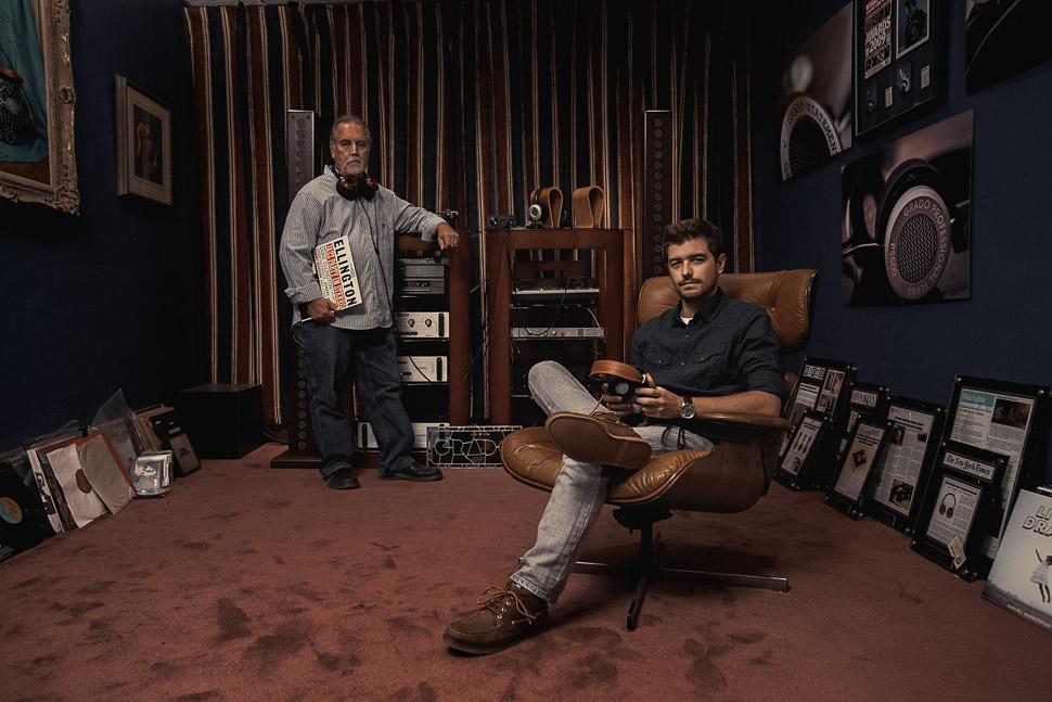John and Jonathan Grado Grado Labs 036