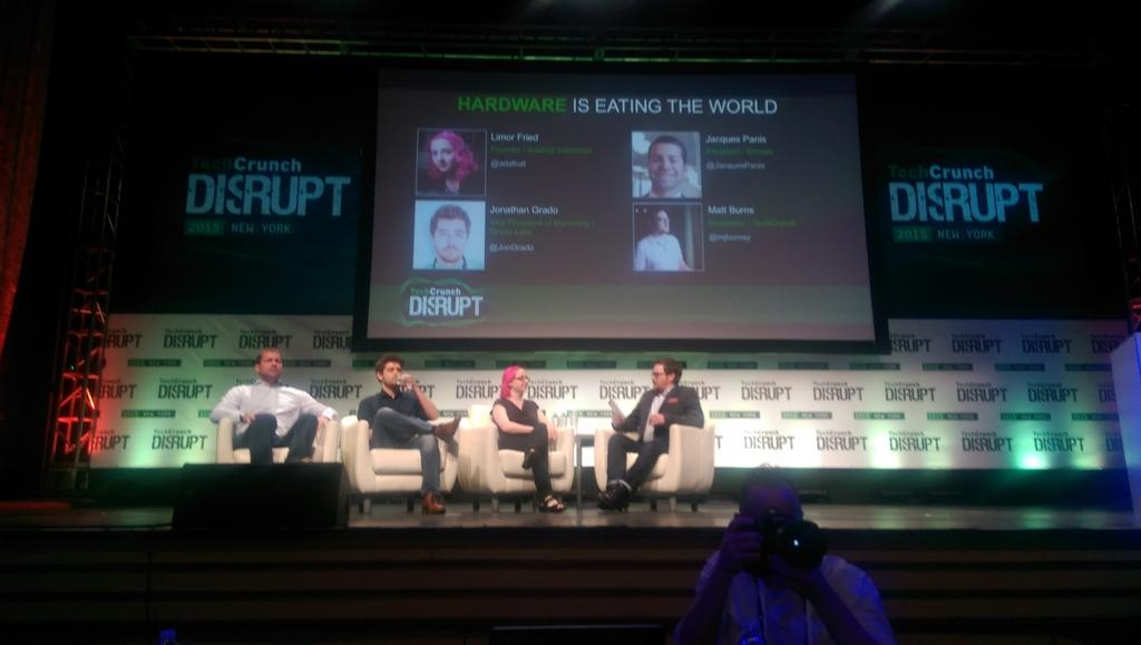 Jonathan Grado Panel at TechCrunch Disrupt 2015