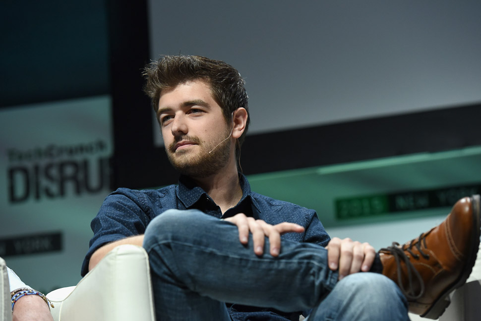 Jonathan Grado at TechCrunch Disrupt 2015