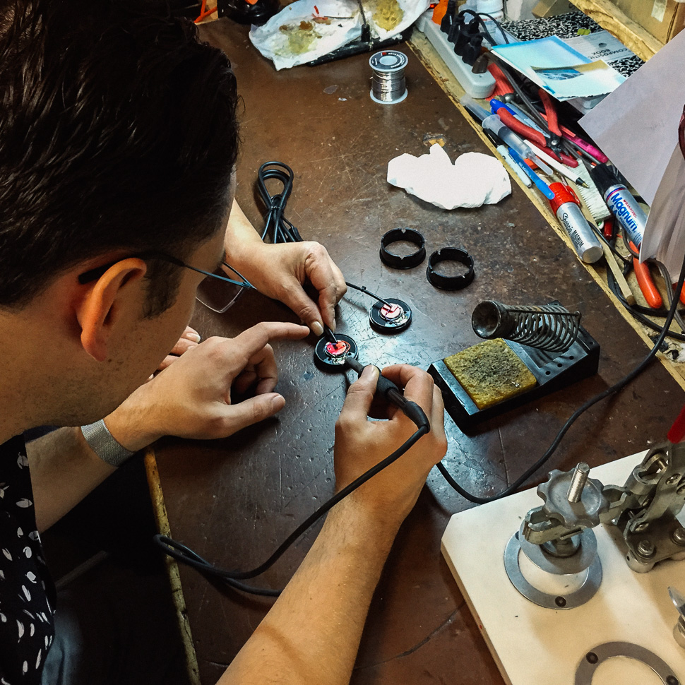 Instagram Founder Mike Krieger at Grado Labs