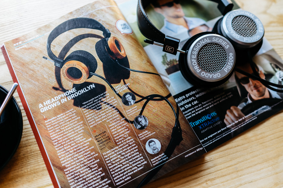 Grado PS500e Popular Science Magazine GH1