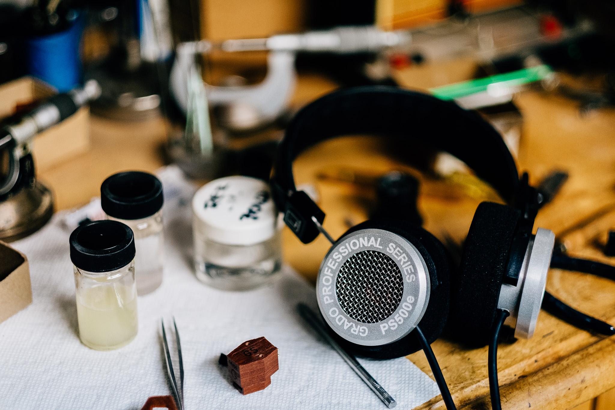 Grado PS500e at Grado Labs
