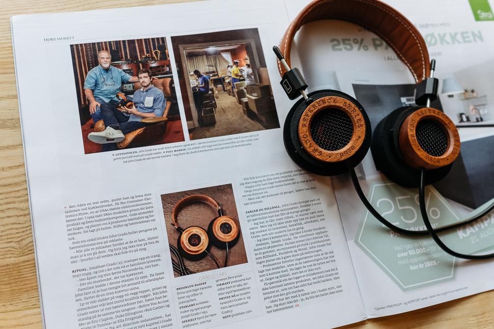 Grado RS2e Dagens Dæringsliv Magazine