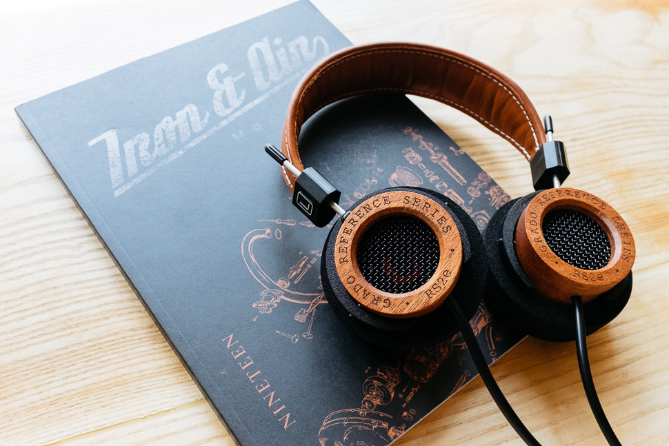 Grado RS2e Iron and Air Magazine