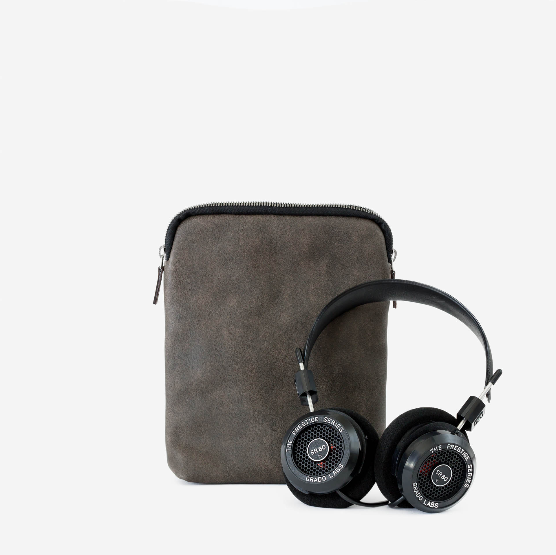 Grado SR80e with This is Ground Leather Pouch