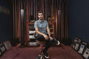 Jonathan Grado in Listening Room