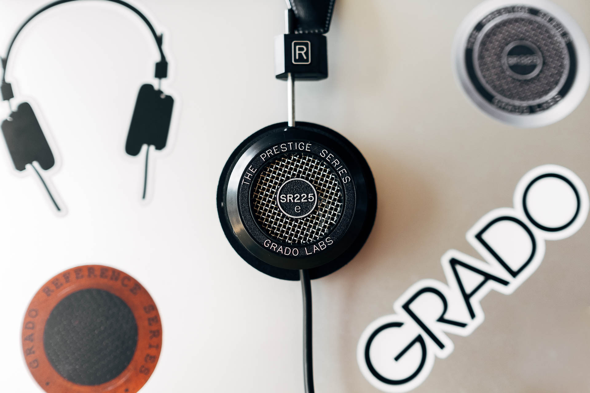 Grado SR225e with Stickers