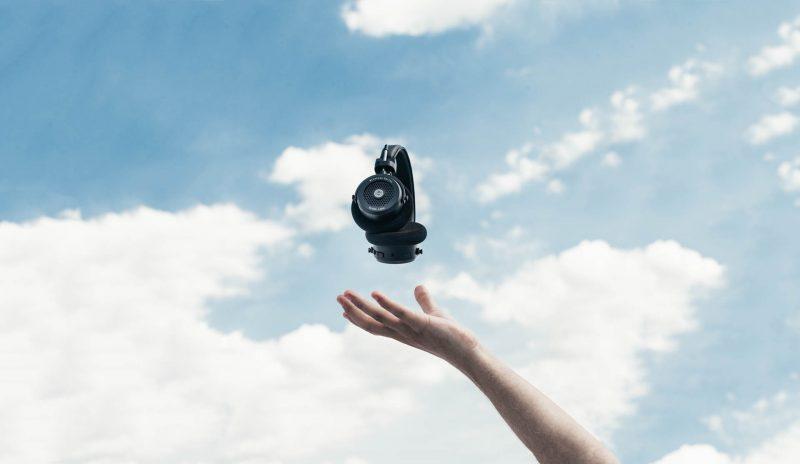 Levitating Grado Headphones GW100 GIF